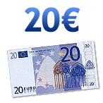 Chèque de 20 euros