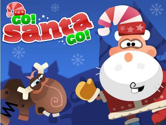 Go Santa Go landing