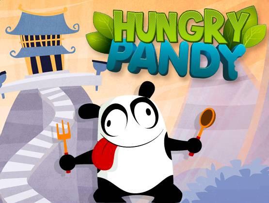 Hungry Pandy landing
