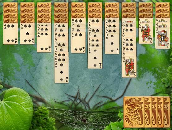 Jungle Spider landing